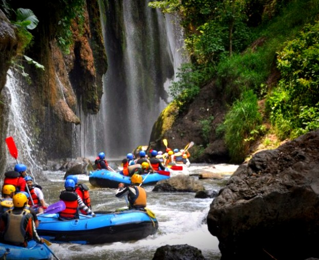 Mount Bromo Ijen and Songa Rafting Tour Package