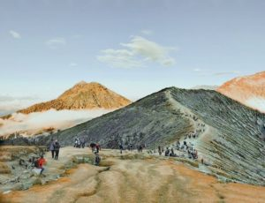 Mount Bromo Sunrise, Papuma Beach, and Ijen Crater Package 4 days