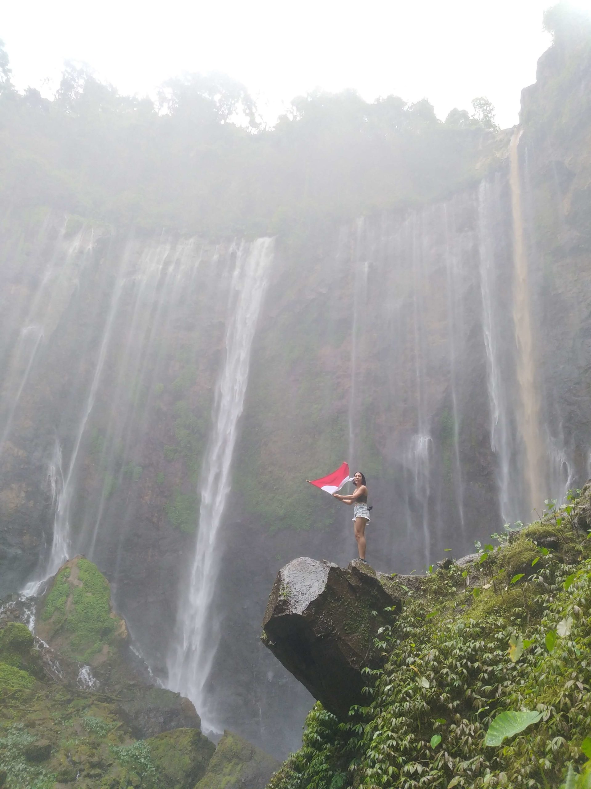 Tumpak Sewu Waterfall and Kapas Biru 1 Day Tour